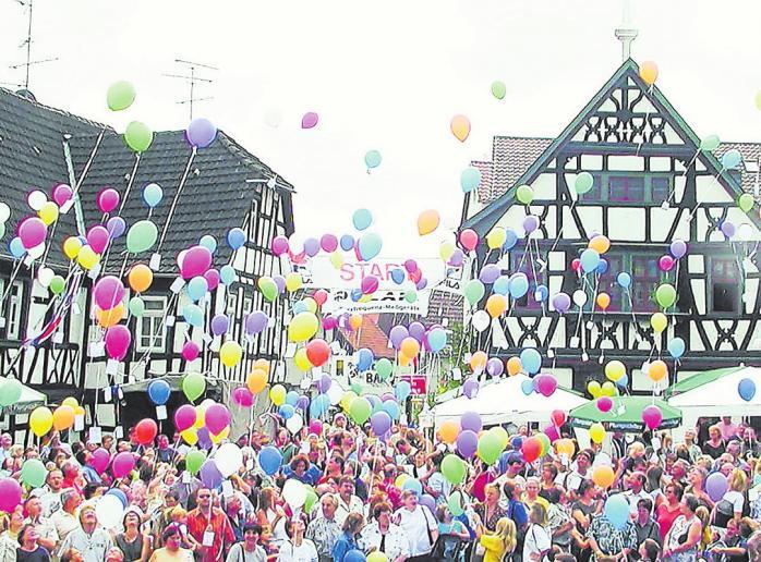 Das Programm des 35. Roßdörfer Ortskernfestes