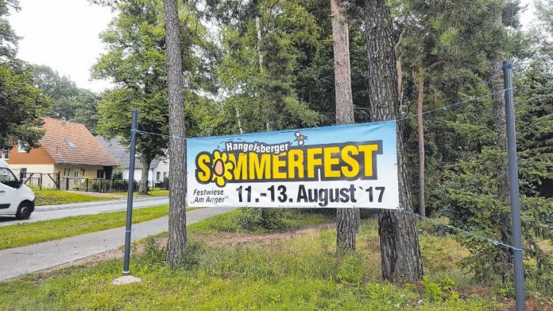 Sommerfest in Hangelsberg