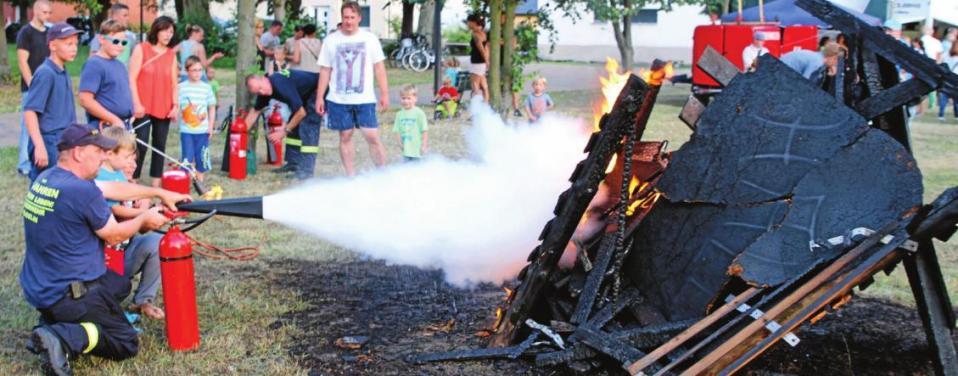 Sommerfest der FFW Mögelin