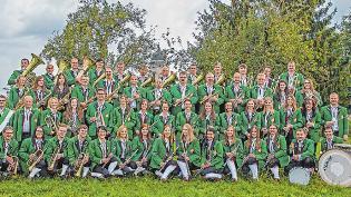 Der Musikverein Tannhausen feiert das Fest der Feste