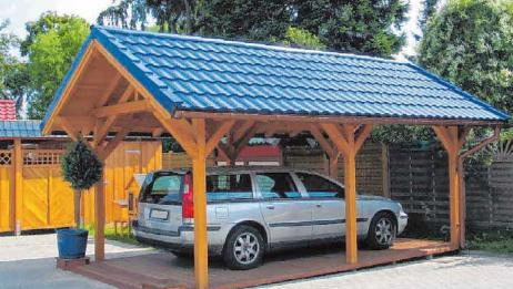 Carports sind kreative Alternativen zur Nutzung von Garagen