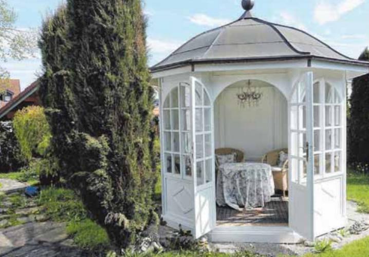 Teehäuser von Geiger sind Tempel der Harmonie