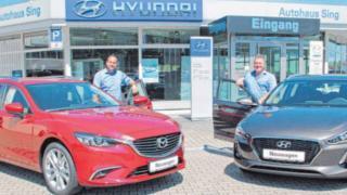 Fahrspaß und Sicherheit mit dem neuen Mazda 6