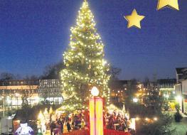 Weihnachtliches Dieburg