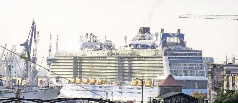 Größere Schiffe,mehr Passagiere