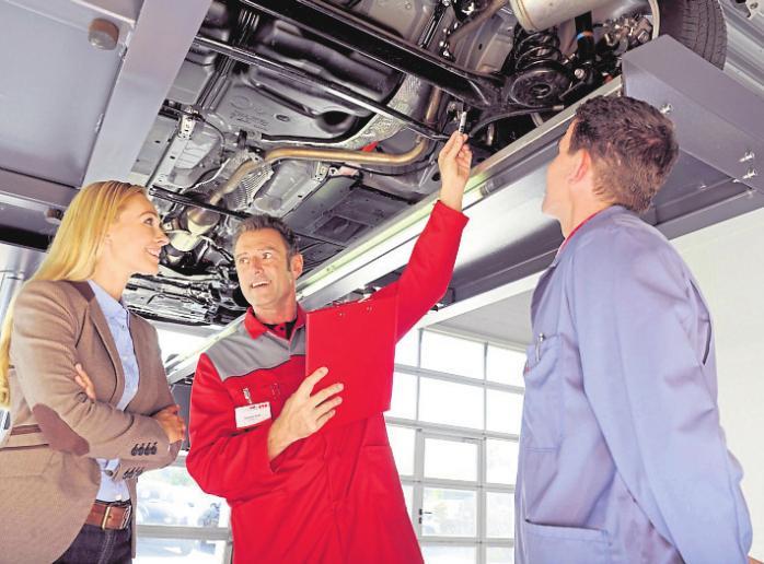 Flotte Fahrzeuge garantieren viel Abwechslung im Job