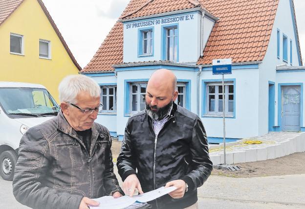 Neues Vereinshaus für SV Preussen 90 Beeskow e.V.