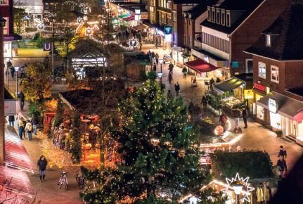 Willkommen auf dem Weihnachtsmarkt Niendorf