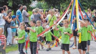 Eine Gemeinde feiert vier Tage lang