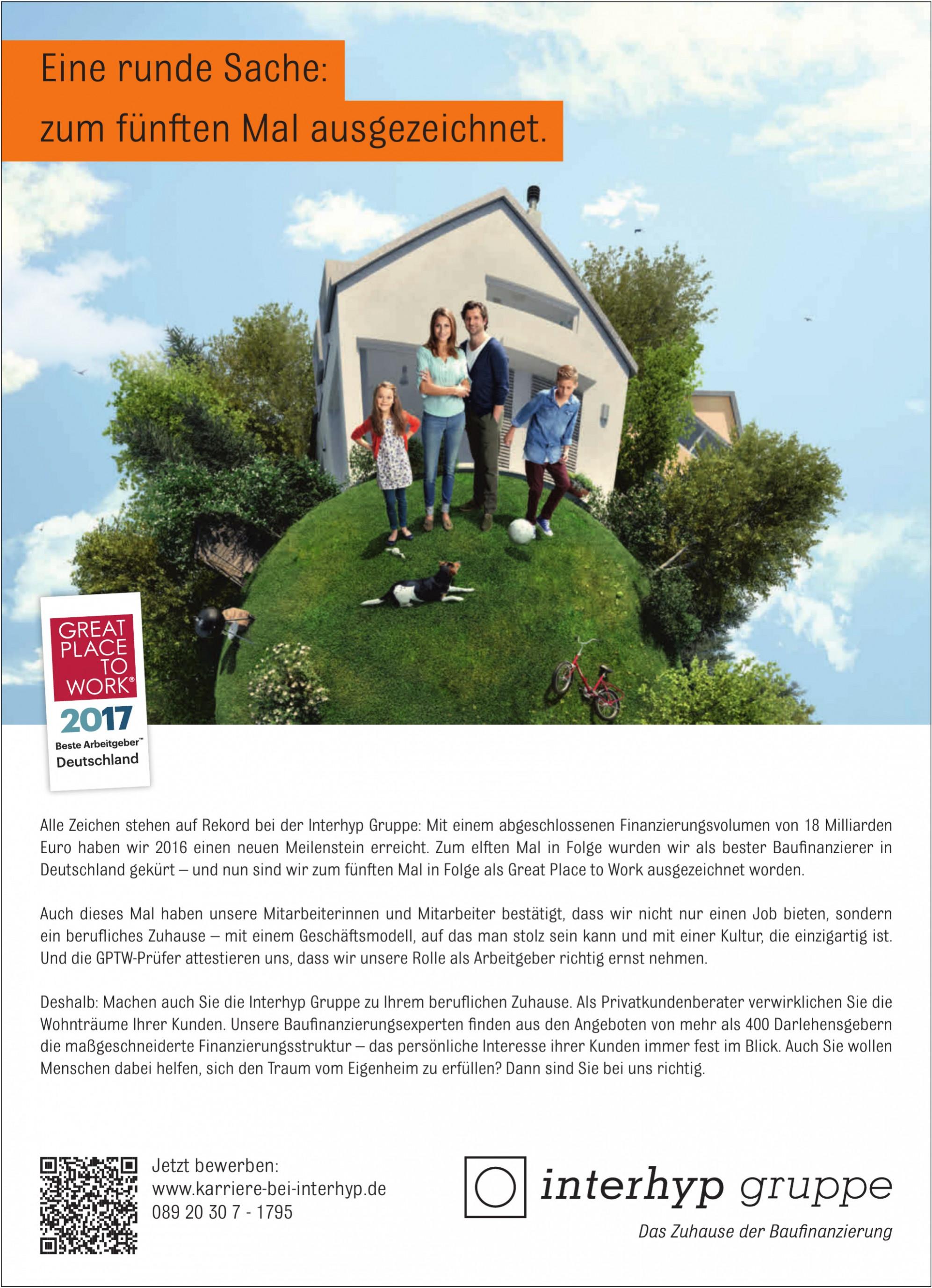 Interhyp Gruppe, Das Zuhause der Baufinanzierung