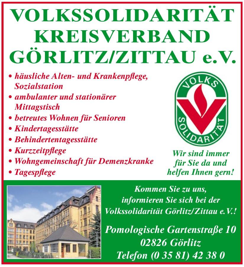 Volkssolidarität Görlitz/Zittau e.V.