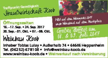 Weinbau Koob
