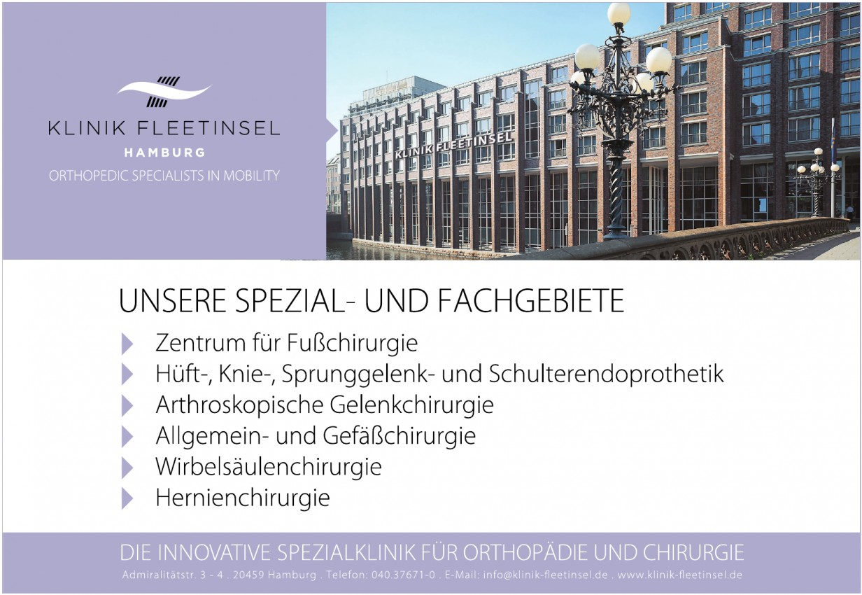 Klinik Fleetinsel Hamburg