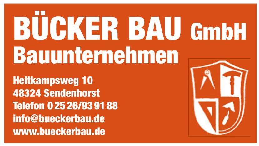 Bücker Bau GmbH Bauunternehmen