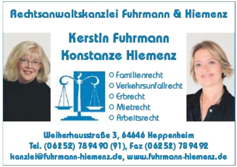 Rechtsanwlatkanzlei Fuhrmann & Hiemenz