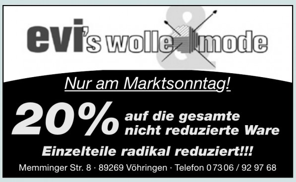 Evi´s Wolle Mode