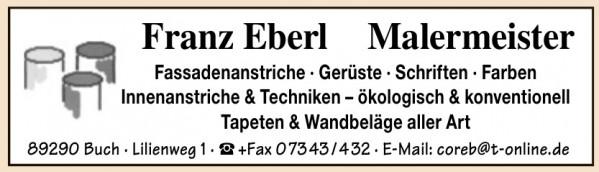 Franz Eberl Malermeister