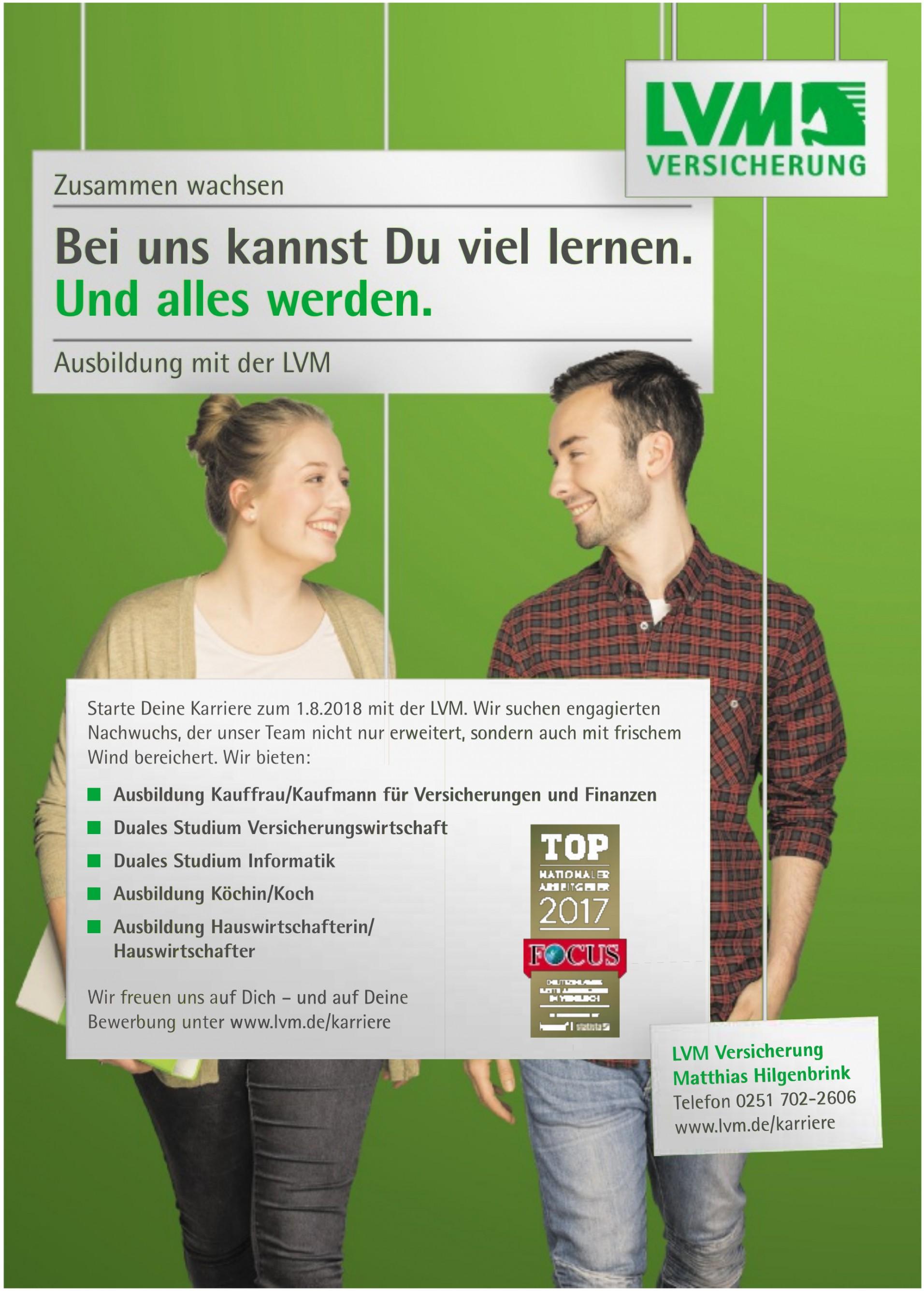 LVM Versicherung - Matthias Hilgenbrink