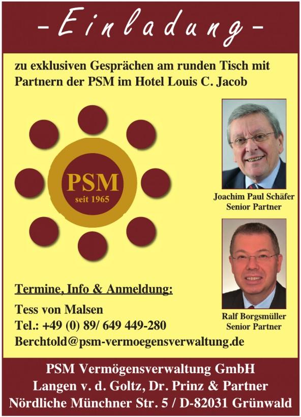 PSM Vermögensverwaltung GmbH