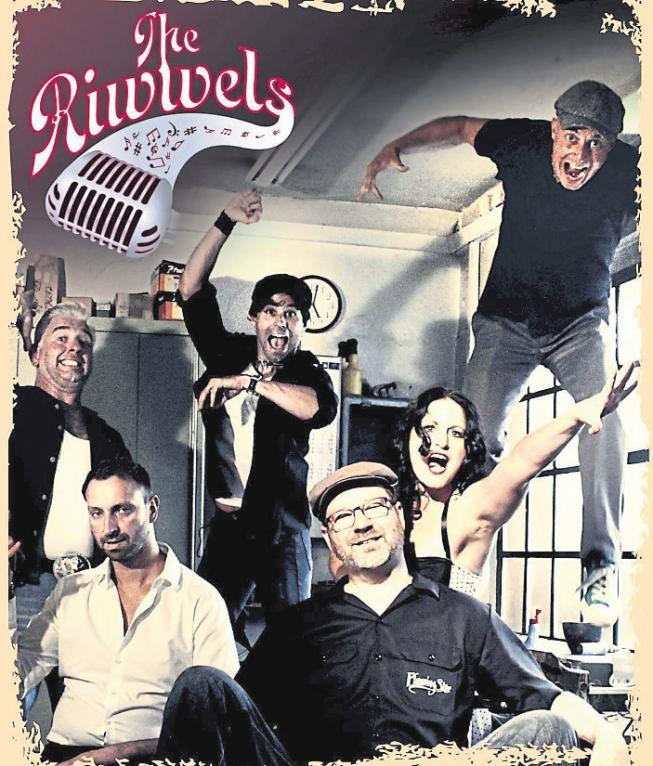 The Riwwels, die Kultband aus dem Odenwaldkreis, widmet sich dem Rock'n'Roll der fünfziger und sechziger Jahre. Foto: Riwwels