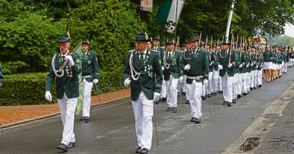 Die Schützenbruderschaft St. Hubertus Gröblingen-Velsen feiert am kommenden Wochenende ihr Schützenfest.