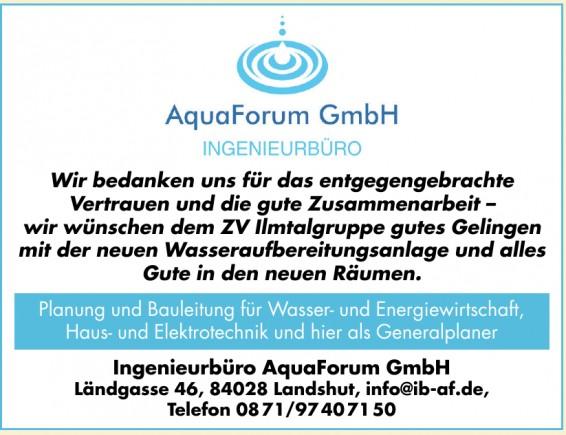 Ingenieurbüro AquaForum GmbH