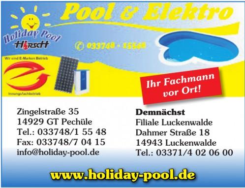 Pool und Elektro