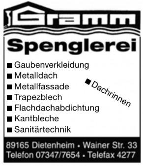 Gramm Spenglerei