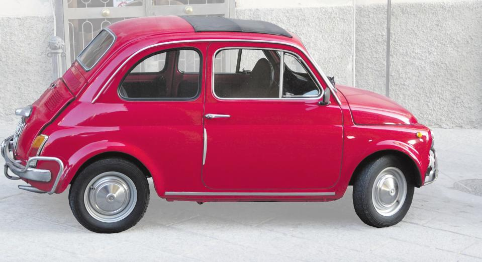 Fiat 500, ein kleiner Italiener, eroberte ab 1957 auch Germania. Foto: Daniel Stricker / Pixelio
