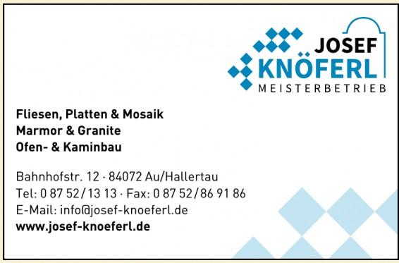 Josef Knöferl Meisterbetrieb