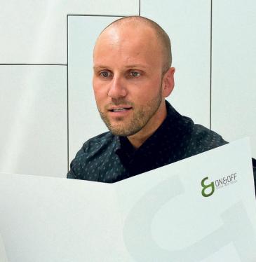 Firmenchef Fabian Strobl