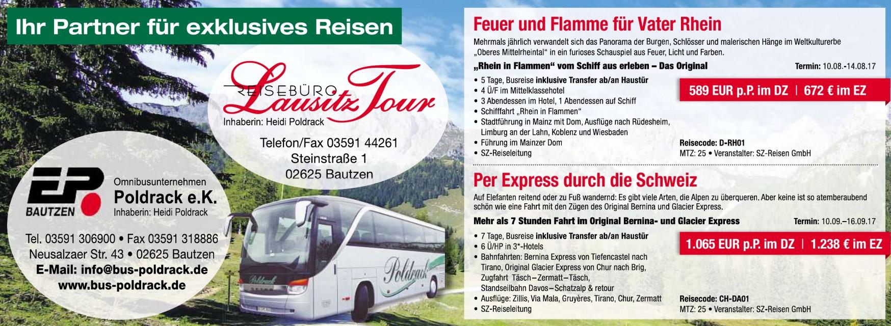 Reisebüro Lausitz Tour - Heidi Poldrack