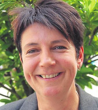 Ina Schlößmann, Vorsitzende des Bad Königer Gewerbevereins: Das wird prima! Foto: Michael Lang