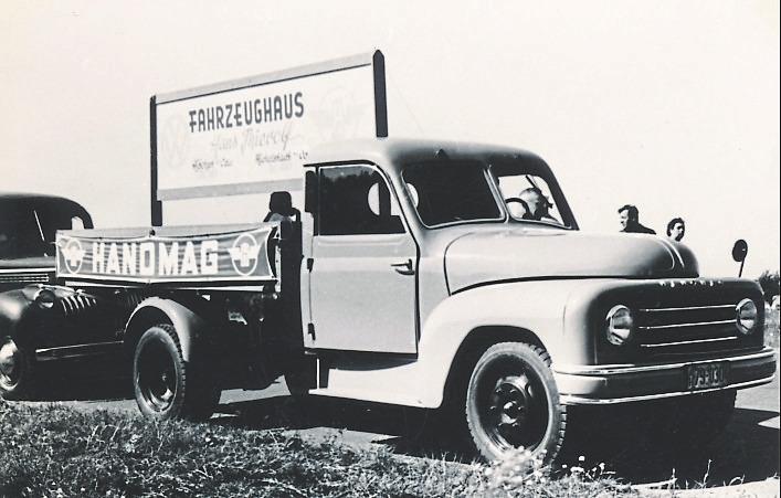 Für Lastkraftwagen ist Hanomag besonders bekannt.