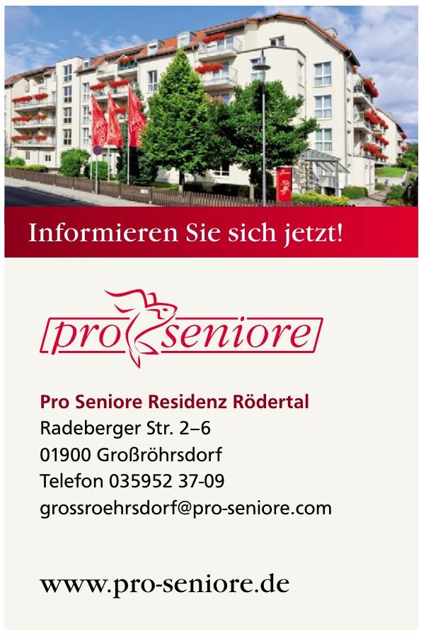 Pro Seniore Residenz Rödertal