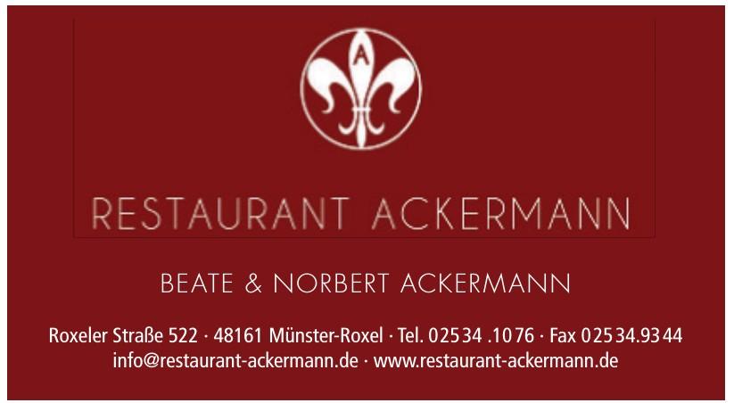 Restaurant Ackermann