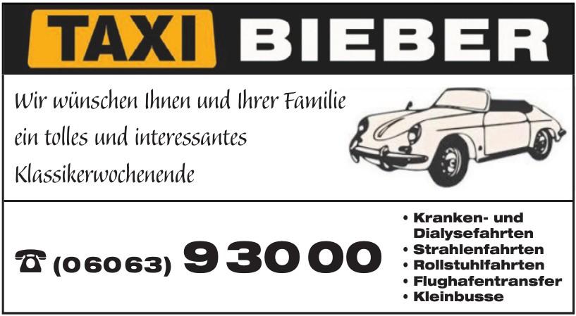 Taxi Bieber