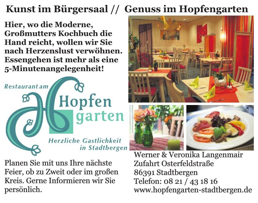 Restaurant am Hopfengarten