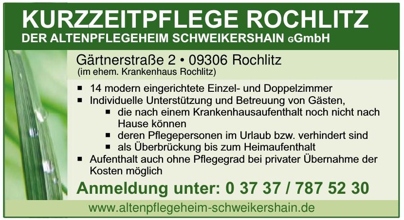 Altenpflegeheim Schweikershain gGmbH