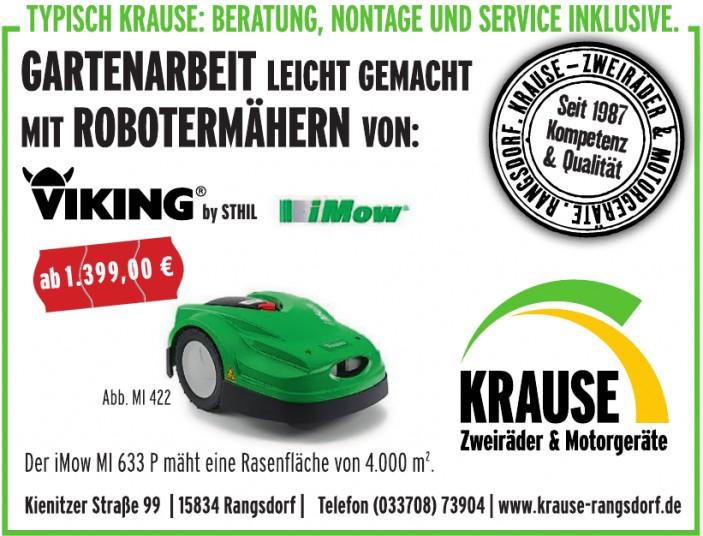 Krause Zweiräder und Morogeräte