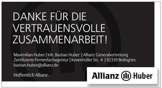 Maximilian Huber, Allianz Generalvertretung