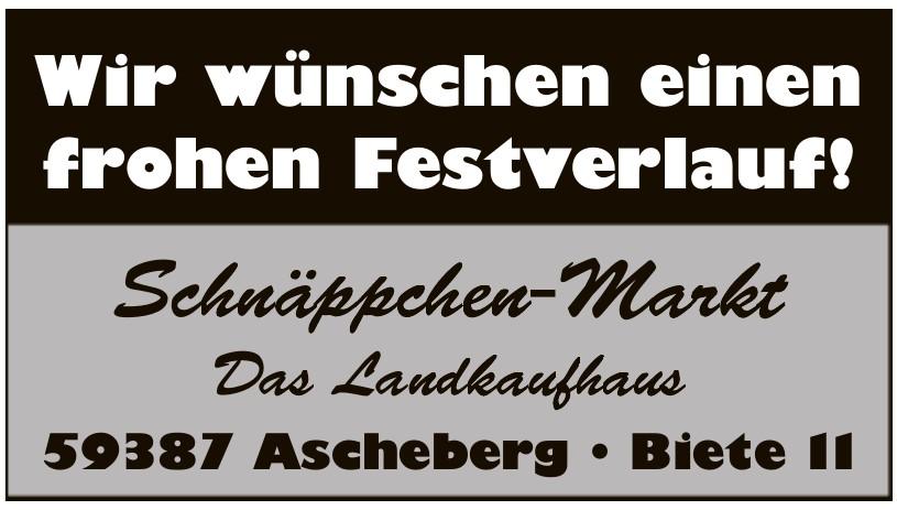 Schnäppche-Markt