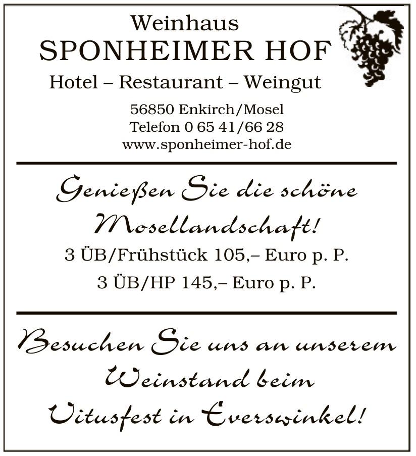 Weinhaus Sponheimer Hof