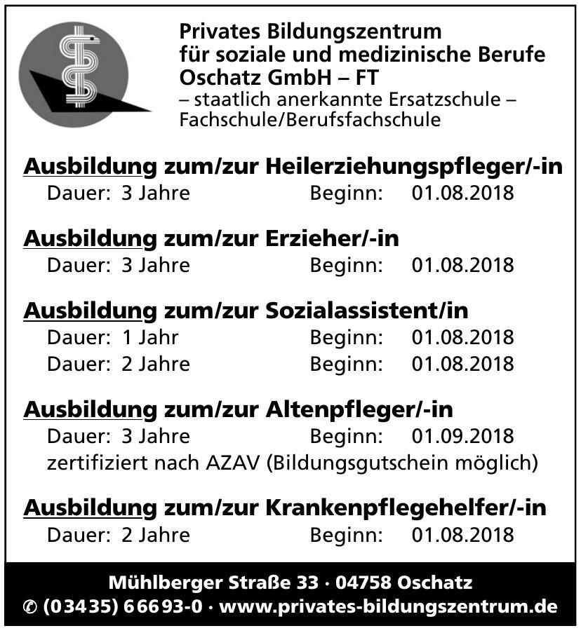 Privates Bildungszentrum für soziale und medizinische Berufe Oschatz GmbH