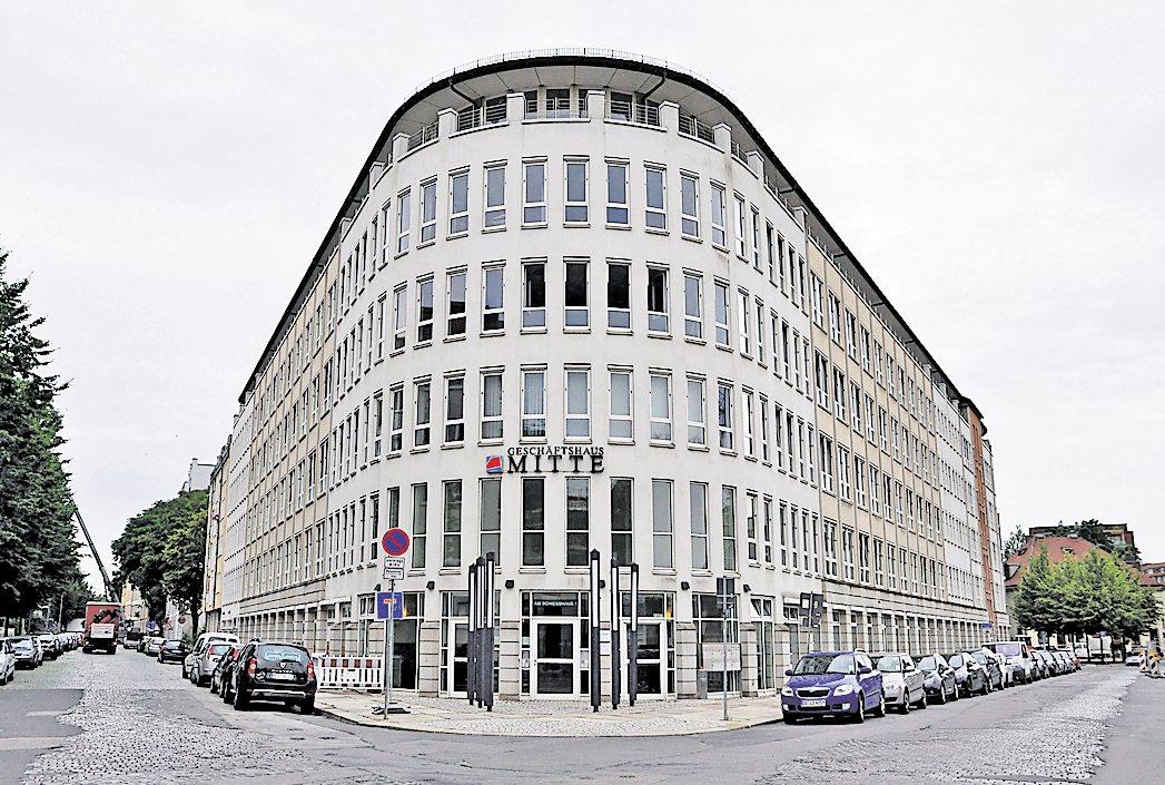 Der Sitz des MDK Sachsen in Dresden. Archivfoto: ih
