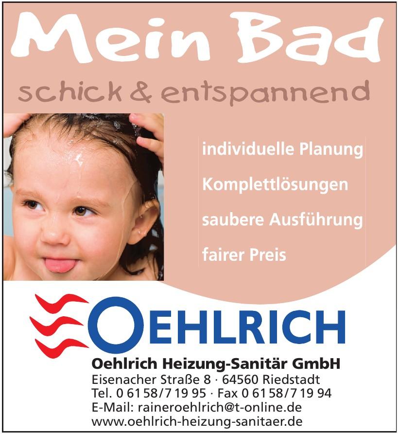 Oehlrich Heizung-Sanitär GmbH