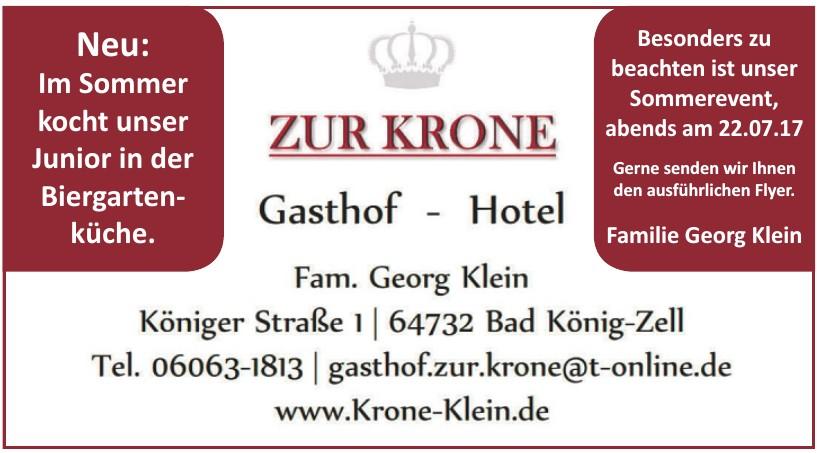 Zur Krone Gasthof-Hotel