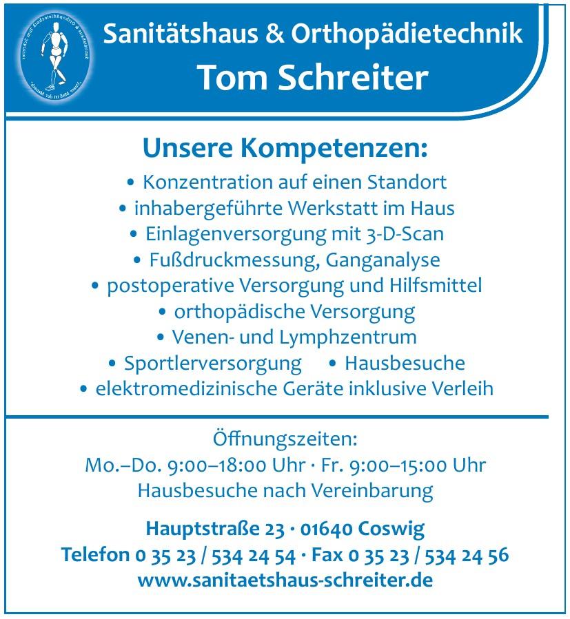 Sanitätshaus & Orthopädietechnik Tom Schreiter