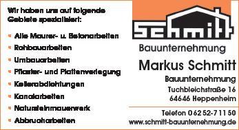 Schmitt Bauunternehmung