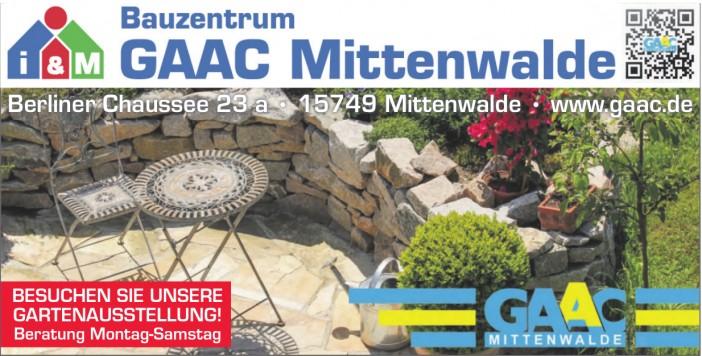 Bauzentrum Gaac
